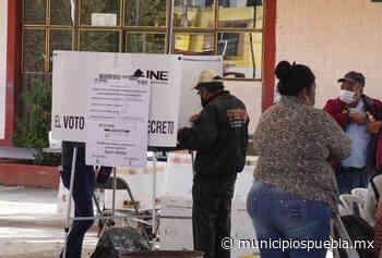 Con retraso e incidentes menores arrancó jornada electoral en Tecamachalco - Municipios Puebla