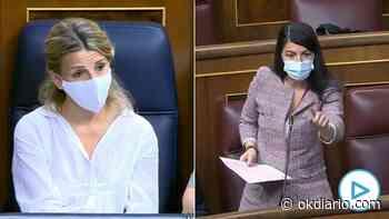 Zasca de Olona a Yolanda Díaz: «Gracias a la reforma laboral del PP usted se codea con las élites económica... - OKDIARIO