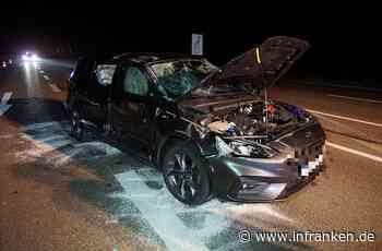Schwerer Verkehrsunfall in Ansbach: 53-Jähriger übersieht Rotlicht und wird bei Unfall schwer verletzt - inFranken.de
