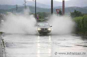 Unfälle in Ansbach: Viele Gewitter-Schäden - Autos in Unterführungen stehen geblieben und Blitzeinschlag - inFranken.de