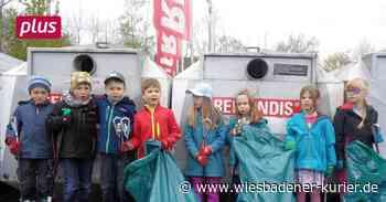 Kitakinder sammeln Müll in Niedernhausen - Wiesbadener Kurier