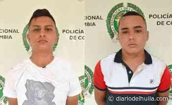 Atracaron en La Ulloa y fueron capturados en Las Cruces - Diario del Huila