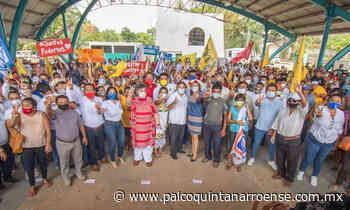 Beatriz Paredes visita Felipe Carrillo Puerto – Palco Noticias - Palco Quintanarroense