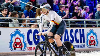 Große Preis in Cottbus: Emotionen pur – Erstes Rennen vor Fans für Bahnradstars Hinze und Levy - Lausitzer Rundschau