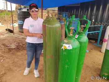 Beni: Asambleísta lleva tubos de oxígeno a Puente San Pablo - eju.tv