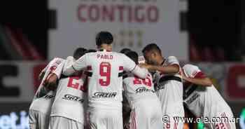 San Pablo metió nueve goles en la vuelta de Crespo al banco - Olé