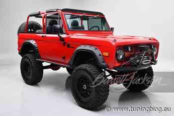 1977 Ford Bronco Restomod von Kevin Hart wird verkauft! - tuningblog.eu