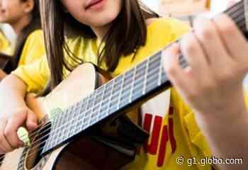 Projeto Guri está com inscrições abertas para aulas de música em Cerquilho - G1