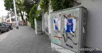Zwei Stromkästen in Bad Homburg beschmiert - Usinger Anzeiger