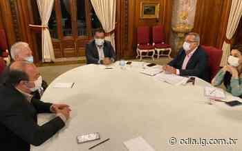 Prefeito de Itaperuna busca investimentos para cidade com governador Cláudio Castro - Jornal O Dia