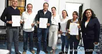 Recibe constancia de mayoría Adrián Hernández, alcalde electo de Dolores Hidalgo - Periódico AM