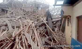Two-storey building collapses at FMC, Umuahia - New Telegraph Newspaper