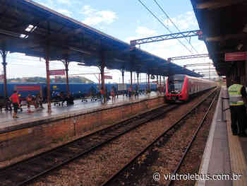 Trem Intermetropolitano Francisco Morato-Campinas terá intervalo de 20 minutos - Via Trolebus