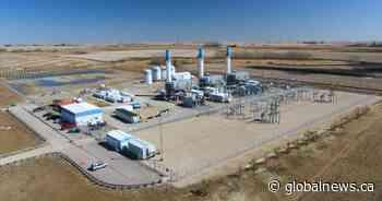Electric-gas turbine hybrid begins powering Calgary