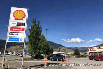Gas prices shoot up 10 cents overnight in South Okanagan – Summerland Review - Summerland Review