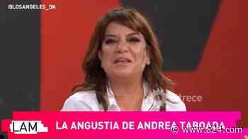 Andrea Taboada lloró y reconoció que necesita terapia por la pandemia - A24.com