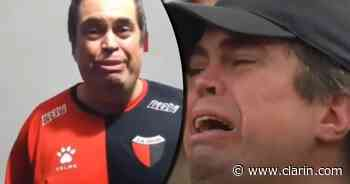 Reapareció el hincha de Colón que lloró en la final de la Sudamericana y volvió a emocionar a todos - Clarín