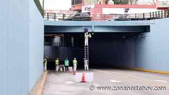 Realizan trabajos de mantenimiento en el túnel de Boulogne - zonanortehoy.com