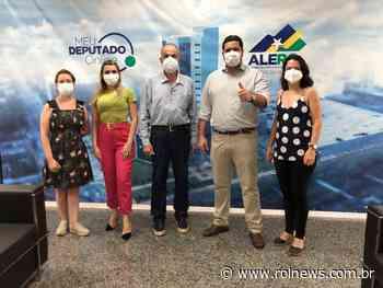 Obras de asfalto serão retomadas em Rolim de Moura e prefeito Aldo Júlio agradece deputado Jean de Oliveira - ROLNEWS