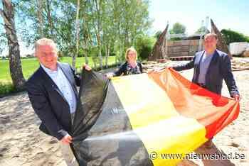 Opbouw Plage Abbaye gestart (Oudenburg) - Het Nieuwsblad
