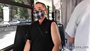 Villejuif: succès pour le premier arrêt du bus de vaccination contre la Covid - 94 Citoyens