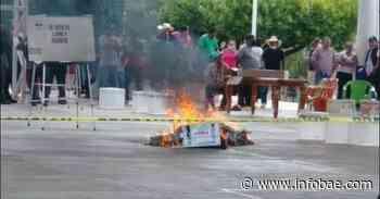 Pobladores de Jericó, en Chiapas, quemaron boletas electorales - infobae