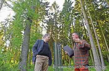 """Besuch in Schleusingen: - Maaßen auf Tuchfühlung mit """"Realos"""" - inSüdthüringen"""