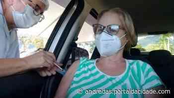 Andradas já aplicou mais de 15 mil doses de vacinas contra a covid-19 - ® Portal da Cidade | Andradas