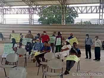 En Pueblo Bello realizaron plantón en contra del gas licuado de petróleo - ElPilón.com.co