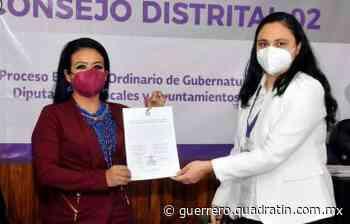 Recibe Norma Otilia Hernández constancia de mayoría en Chilpancingo - Quadratin Guerrero