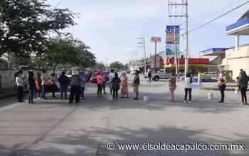 Protestan en Chilpancingo tras seis meses sin agua - El Sol de Acapulco