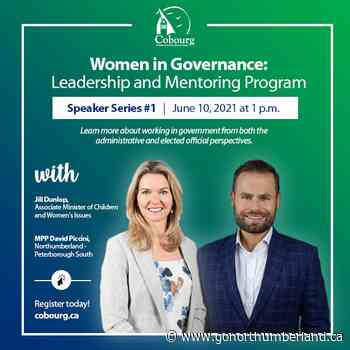 Cobourg's Women in Governance 12-week speaker series kicks off tomorrow! - 93.3 myFM