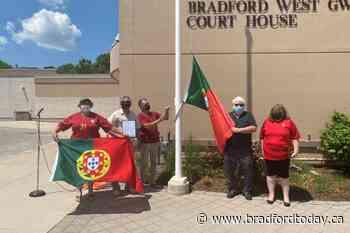 Town of Bradford West Gwillimbury recognizes Portugal Day - BradfordToday