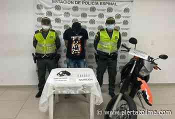En mega – operativo recapturaron a 'Bombolín', quien se había fugado de la Estación de Policía en El Espinal - Alerta Tolima