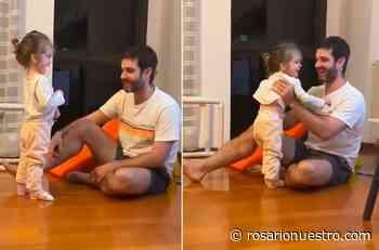 Emocionante video: Valentina, la nena con atrofia muscular espinal, dio sus primeros pasos tras recibir la medicación - Rosario Nuestro