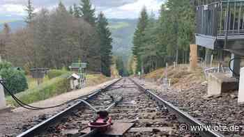 Thüringer Bergbahn pausiert zwei Tage lang - Ostthüringer Zeitung