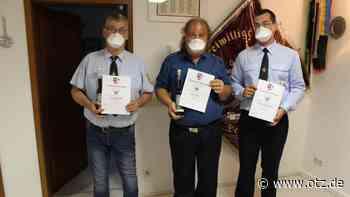Generationswechsel bei der Feuerwehr in Deesbach - Ostthüringer Zeitung