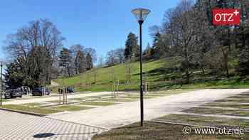 Bergfried-Parkplatz in Saalfeld: Ein architektonisches Schaustück - Ostthüringer Zeitung