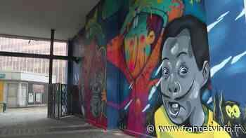 À Pantin, un musée à ciel ouvert pour recréer du lien entre les artistes et les habitants - Franceinfo