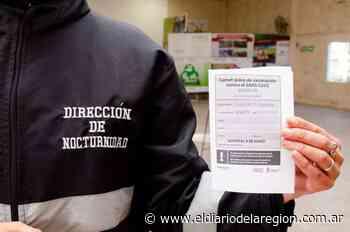 Sáenz Peña: Comenzó la vacunación a trabajadores municipales - El Diario de la Región