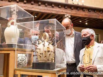 La Diputación acoge botijos artísticos de Ismael Peña - El Adelantado de Segovia