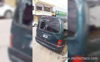 Accidente en Sáenz Peña: un policía se enojó y rompió la luneta del vehículo que lo chocó - Diario Chaco
