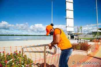 Prefeitura de Boa Vista interdita áreas do Parque do Rio Branco após nível do rio subir - G1