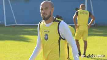 Paulinho retorna após lesão muscular e diz que o Rio Branco-ES recuou muito cedo contra a Caldense - globoesporte.com