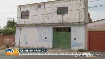 Polícia Civil investiga morte de estudante esfaqueado durante encontro religioso em Franca, SP - G1