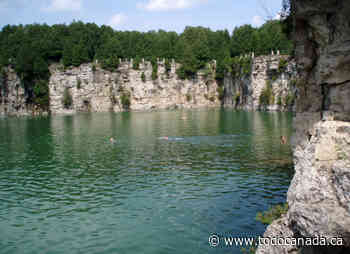 You Will Need Advance Tickets to Go Swimming in Elora Quarry & Tubing at Elora Gorge - To Do Canada
