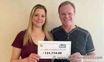 'It was a surreal feeling': Elora couple celebrating OLG Lotto 6/49 win - GuelphMercury.com