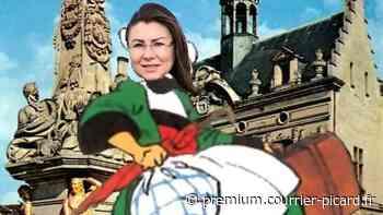 La maire de Noyon n'apprécie pas de se voir en montage photo de Bécassine - Courrier picard
