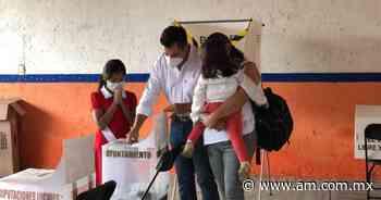 Elecciones Tarimoro 2021: Moisés Maldonado López acude a votar - Periódico AM