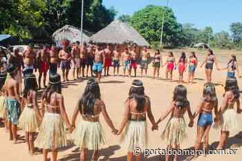 Encontro valoriza cultura Xerente na aldeia Novo Horizonte, às margens do Rio do Sono - Portal do Amaral